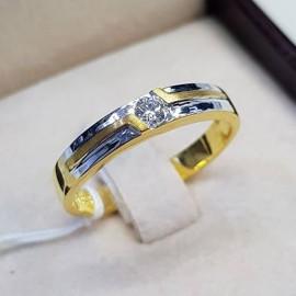 แหวนเพชร emerald 6.76 กะรัต